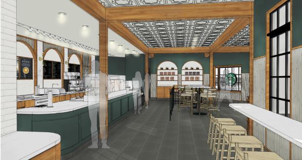 Starbucks Interior Artist Concept